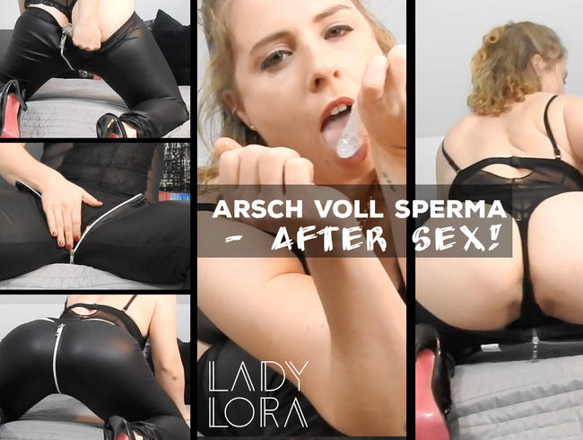 Video Thumbnail Arsch voll Sperma - after Sex!