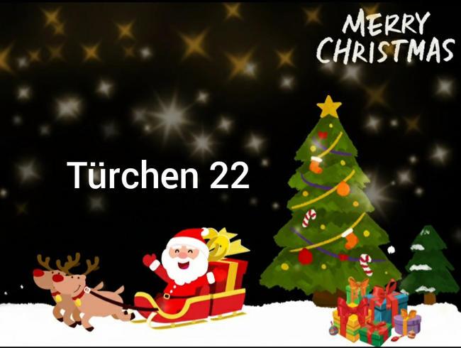 Video Thumbnail Türchen 22.