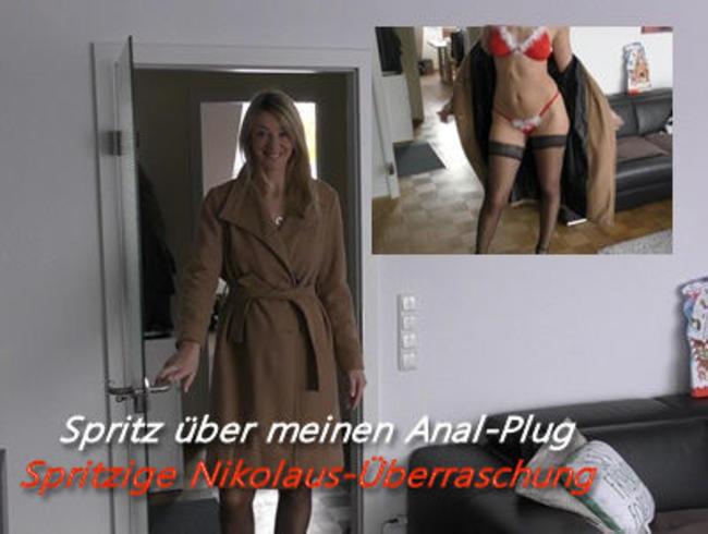 Video Thumbnail Spritz über meinen Anal-Plug I Spritzige Nikolaus-Überraschung