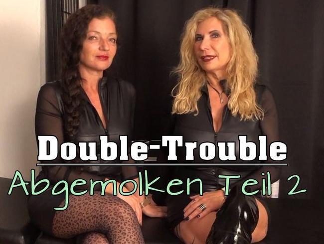 Video Thumbnail Double-Trouble! Abgemolken Teil 2