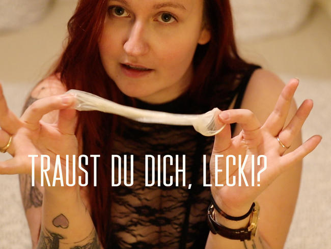 Video Thumbnail Traust Du Dich, Lecki?