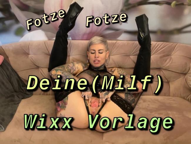 Video Thumbnail Deine Milf -Wixx Vorlage