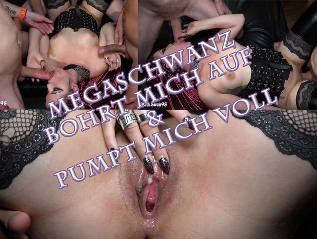 Video Thumbnail Megaschwanz bohrt mich auf & pumpt mich voll