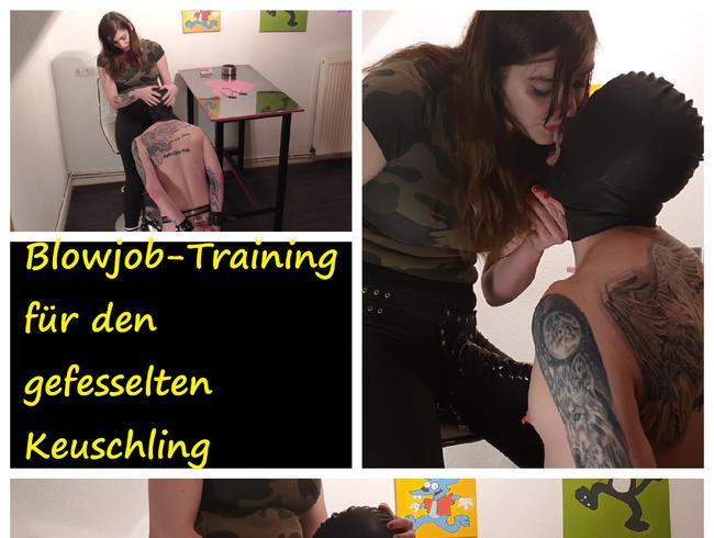 Video Thumbnail Blowjob-Training für den gefesselten Keuschling
