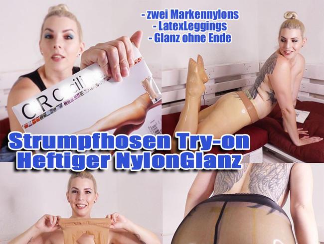 Video Thumbnail STRUMPFHOSEN Try-on… Heftiger NYLON Glanz