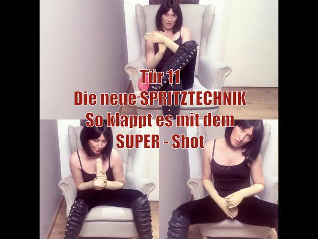Video Thumbnail Tür 11 - Die neue Spritz - Technik - So klappt es mit dem Super Shot