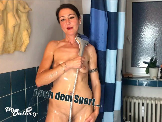Video Thumbnail ... nach dem Sport ...  ab in die Dusche