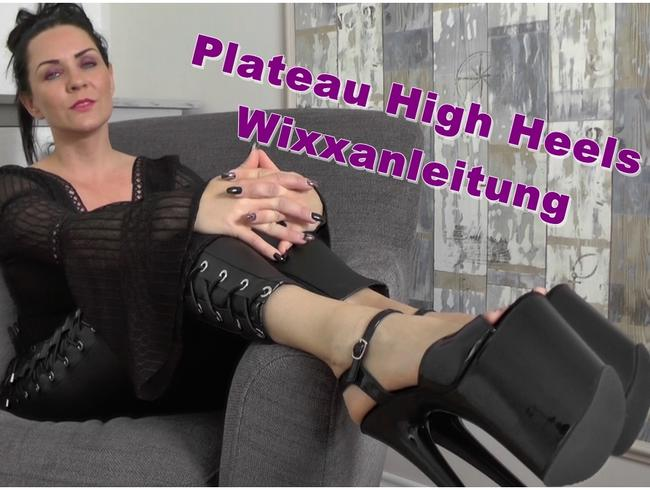 Video Thumbnail Plateau HighHeels  Wixxanleitung