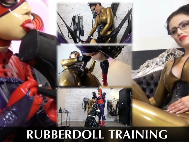 Video Thumbnail Rubberdoll Training – Full Video