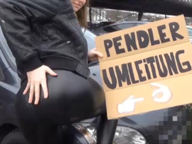 Video Thumbnail MEGAKRANK! Die PENDLER-WETTE (inkl. O*A der beim abspritzen zusieht)...
