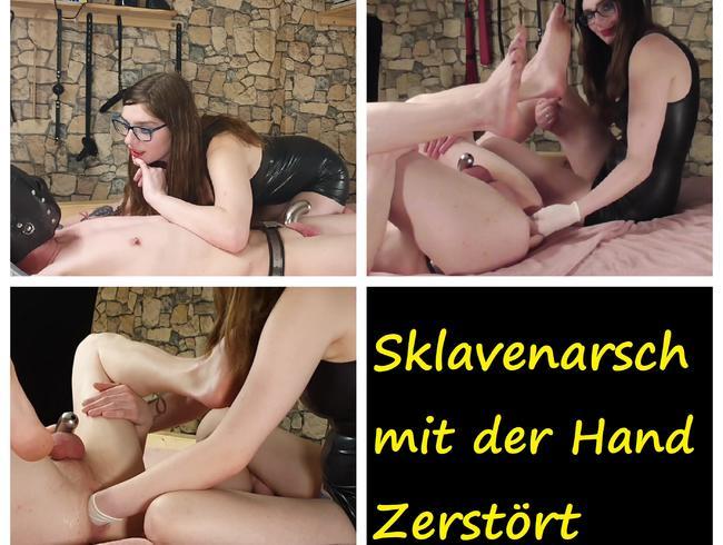 Video Thumbnail Sklavenarsch mit der Hand zerstört