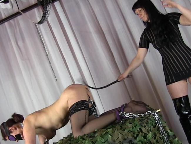 Video Thumbnail Lisanne - extreme whipping