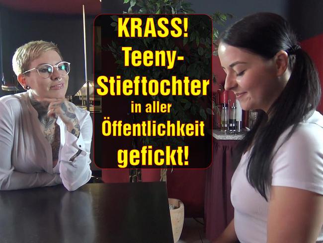 Video Thumbnail KRASS! Teeny-Stieftochter in aller Öffentlichkeit gefickt!