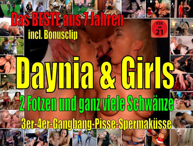 Daynia - Das SCHLAMPENSPEZIAL! Daynia + Girls | Viele Fotzen + noch mehr Schwänze! Best of! incl. Bonusclip