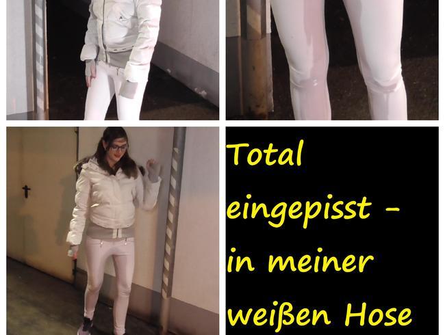 Video Thumbnail Total eingepisst - in meiner weißen Hose