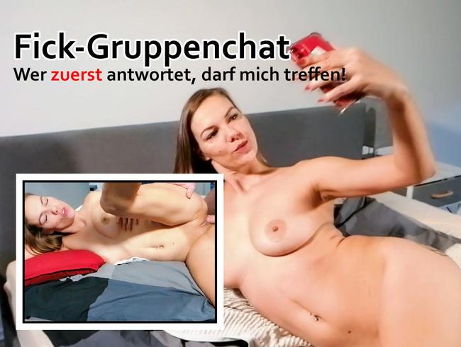 Video Thumbnail Fick-Gruppenchat - Wer zuerst antwortet, darf mich treffen!