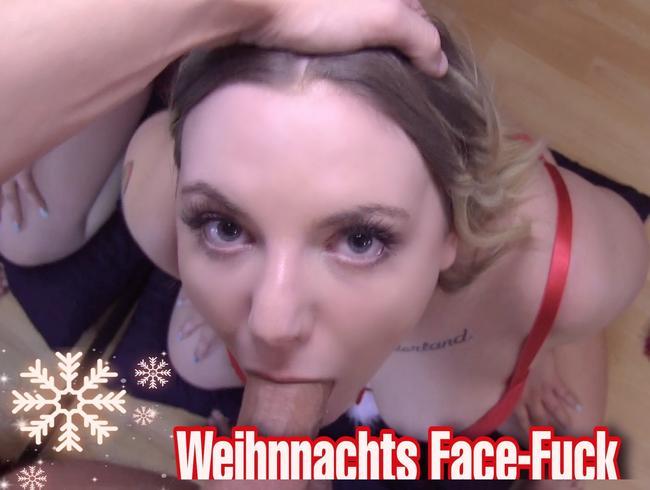 Video Thumbnail Sloppy Weihnachts Face-Fuck