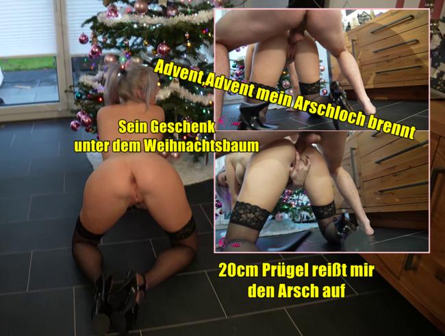 Video Thumbnail Advent, Advent mein Arschloch brennt. Anale 20cm