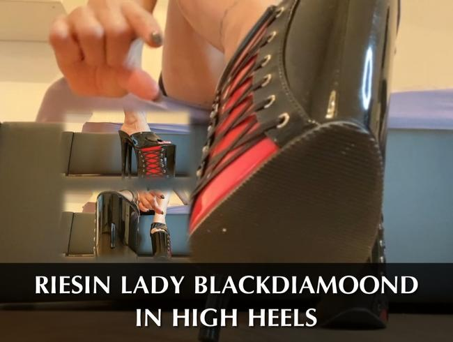 Video Thumbnail Riesin Lady Blackdiamoond in Heels