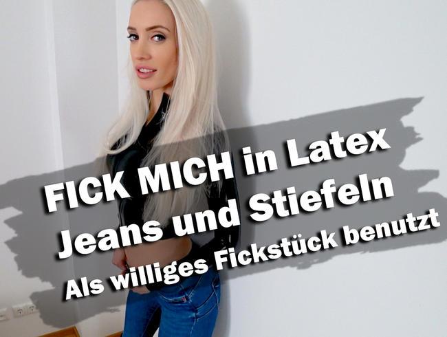 Video Thumbnail FICK MICH in Latex, Jeans und Stiefeln | Williges Fickstück!