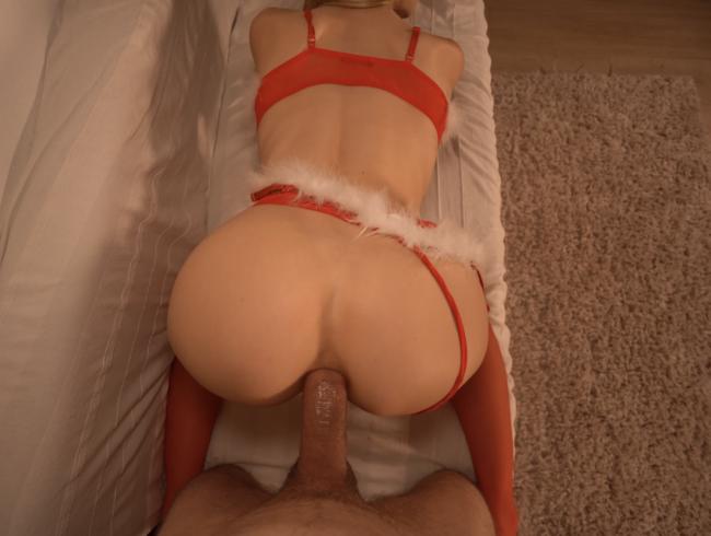 Video Thumbnail Weihnachtsfick in Nylons Teil 2: Doggy in Fotze und Arsch, Anal Missionary und ANAL CREAMPIE
