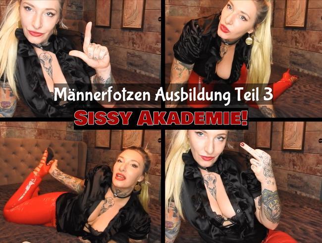 Video Thumbnail Sissy Akademie! Männerfotzen Ausbildung Teil 3! (de)