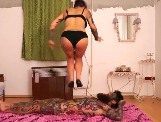 Video Thumbnail DRÜCKEN SIE SEINE GRENZEN: MERCILESS BALLET FLATS STOMACH SPRINGT AUF MEINEN SUPER HAUTIGEN EHEMANN