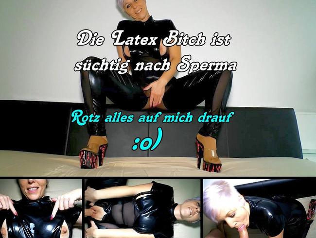 Video Thumbnail Die Latex Bitch will nur dein Sperma