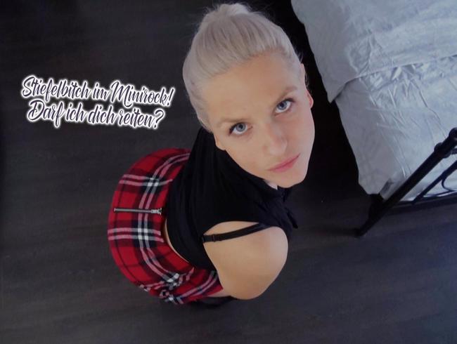 Video Thumbnail Stiefelbitch im Minirock! Darf ich dich reiten?