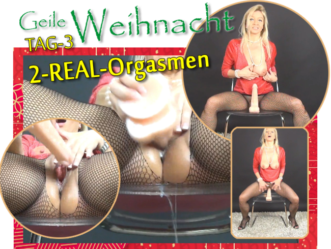 "Video Thumbnail -Geile Weihnacht- (Tag-3)  ""2-REAL-Orgasmen"""