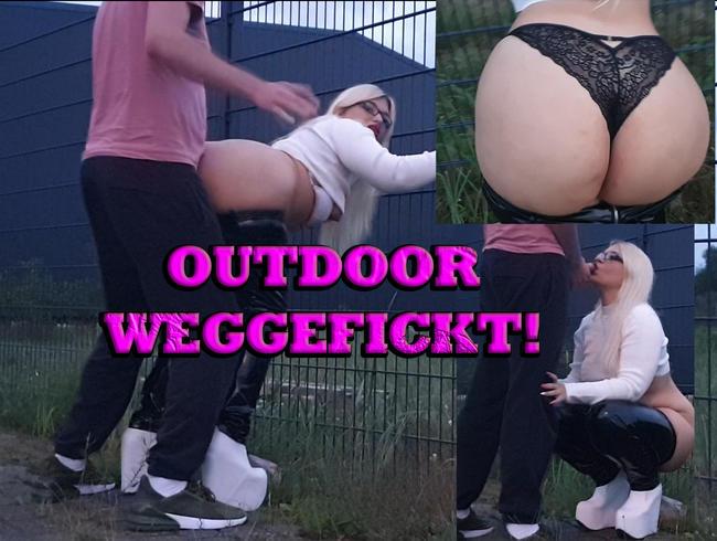 Video Thumbnail Outdoor Weggefickt!