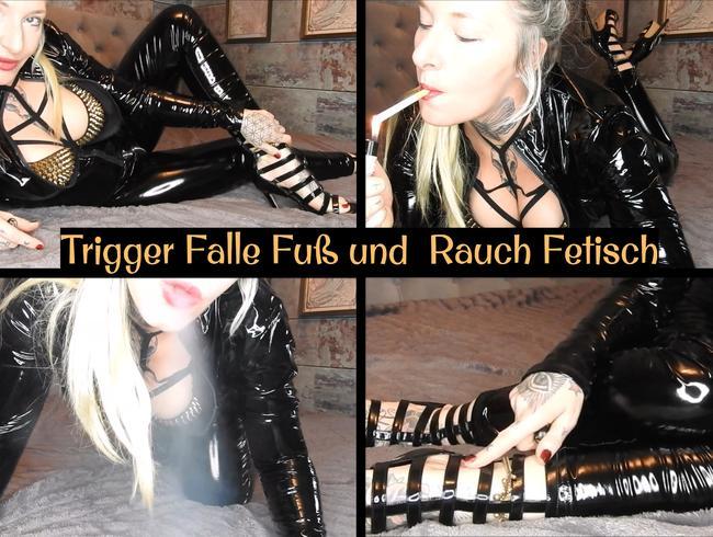 Video Thumbnail Trigger Falle! Fuß & Rauch Fetisch! (de)