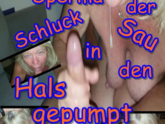 Video Thumbnail Sperma der Schlucksau in den Hals gepumpt