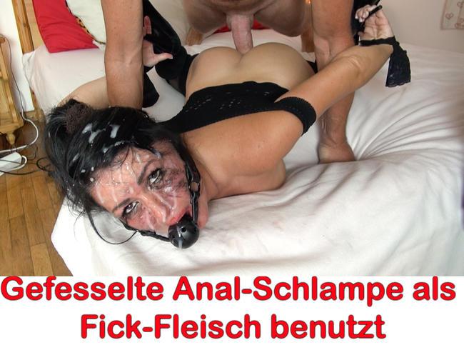 Video Thumbnail Gefesselte Anal-Schlampe! Die totale Arschloch-Zerstörung!