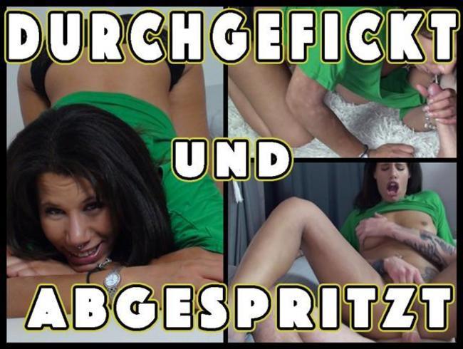 Video Thumbnail DURCHGEFICKT und ABGESPRITZT inklusive feuchten FACESITTING!!!