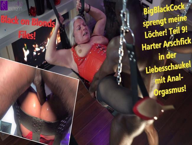 Video Thumbnail BigBlackCock sprengt meine Löcher! Teil 9! Harter Arschfick in derLiebesschaukel mit Anal-Orgasmus!