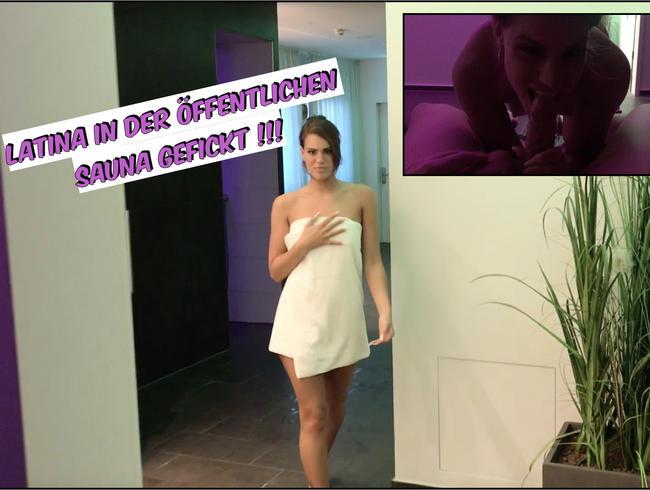 Video Thumbnail Latina in der öffentlichen Sauna Gefickt !!!