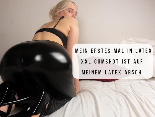 Video Thumbnail Mein erstes Mal in Latex- XXL Cumshot ist auf meinen Latexarsch!!!!