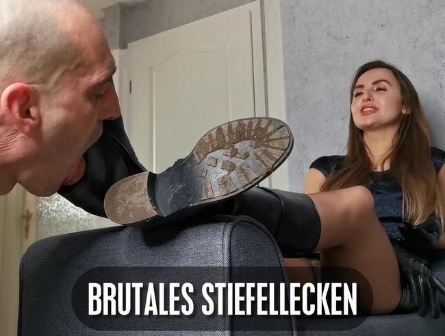 Video Thumbnail Brutales Stiefellecken