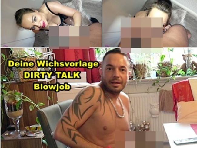 Video Thumbnail Wichvorlage DIRTY TALK Blowjob! Spritz deiner Dirty Talk Queen auf die Monster Titten