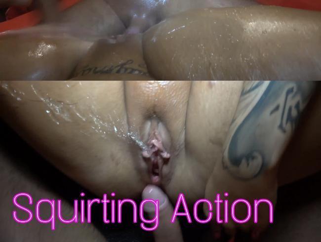 Video Thumbnail Squirting Action