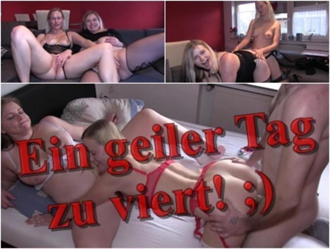 Video Thumbnail Ein geiler Tag zu viert! ;)
