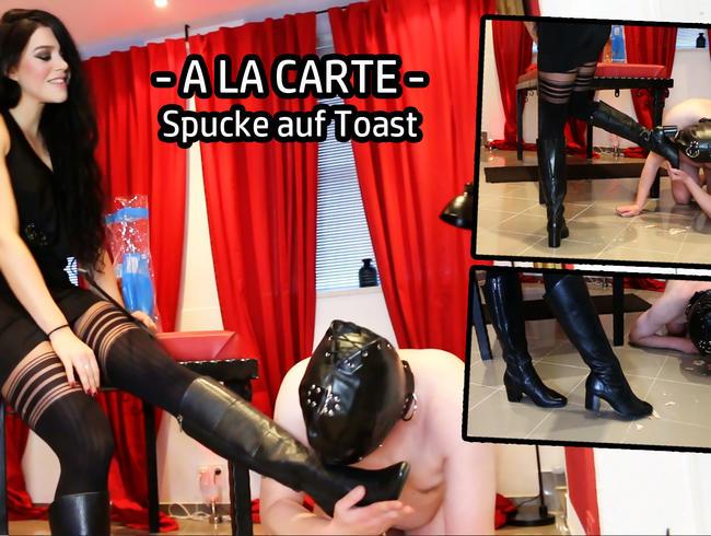 Video Thumbnail A LA CARTE - Spucke auf Toast!