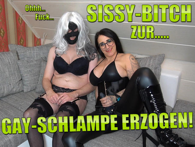 Video Thumbnail Sissy-Bitch zur GAY-SCHLAMPE erzogen!