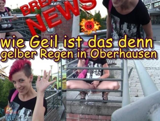 Video Thumbnail Wie geil ist das denn – Gelber Regen in Oberhausen.