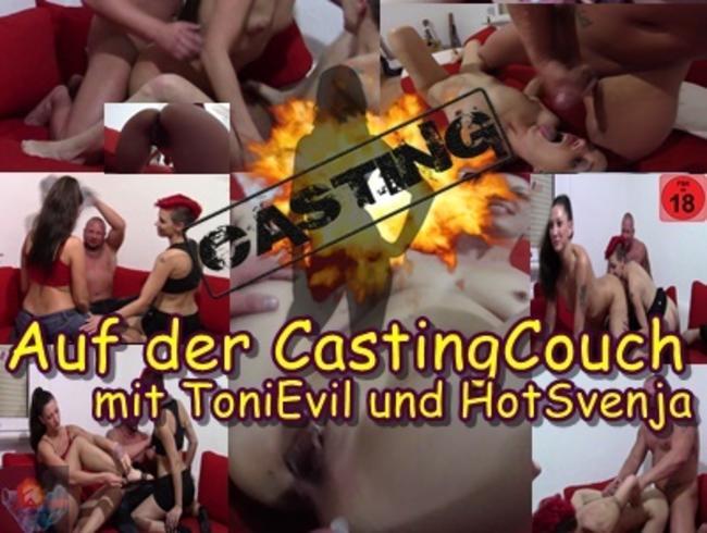 Video Thumbnail Auf der CastingCouch mit ToniEvil und HotSvenja