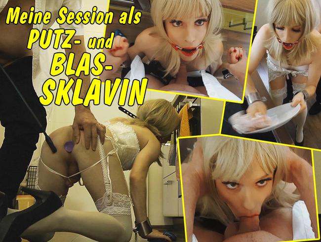 Video Thumbnail Meine Session als Putz- und Blas-Sklavin!!