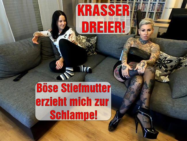 Video Thumbnail Krasser DREIER! Böse Stiefmutter erzieht mich zur Schlampe!