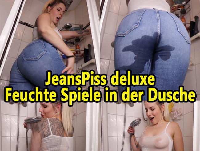 Video Thumbnail JEANSPiss deluxe – Feuchte Spiele in der Dusche