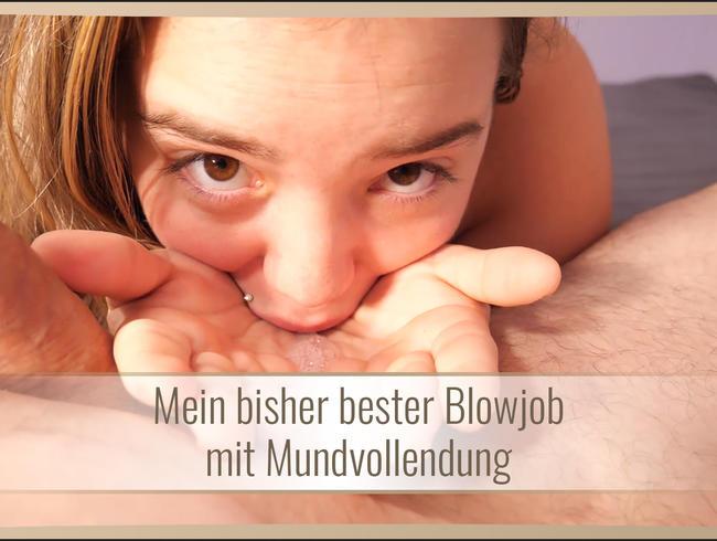 Video Thumbnail Mein bisher bester Blowjob mit Mundvollendung